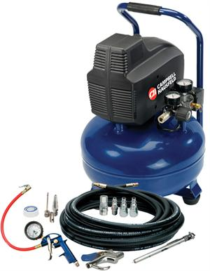 HM751099AV Inflation and Fastening 6 Gallon Air Compressor with Tire Inflation Kit