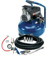 HM750099AV Inflation and Fastening 6 Gallon Air Compressor with Tire Inflation Kit