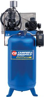 TF211201AJ Air Compressor, 7.5HP running, 80 Gallon